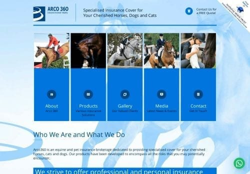 Arco 360 Equine and Equestrian Insurance