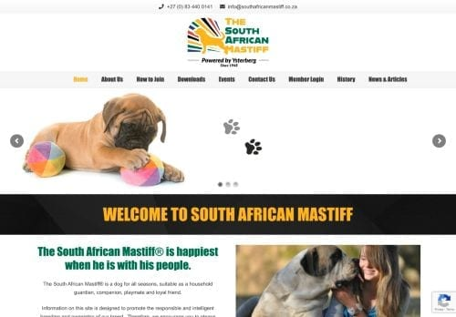 The South African Mastiff Association