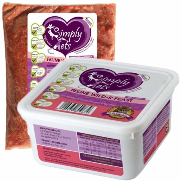 Rabbit for Cats by Simply Pets | Rabbit Meal for Cats | Veterinary formulated | Raw Cat Food | Raw Food for Cats