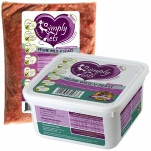Venison for Cats by Simply Pets | Venison Meal for Cats | Veterinary formulated | Raw Cat Food | Raw Food for Cats