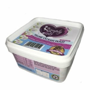 Fish for Cats 300gr Tubs by Simply Pets | Fish Meal for Cats | Veterinary formulated | Raw Cat Food | Raw Food for Cats